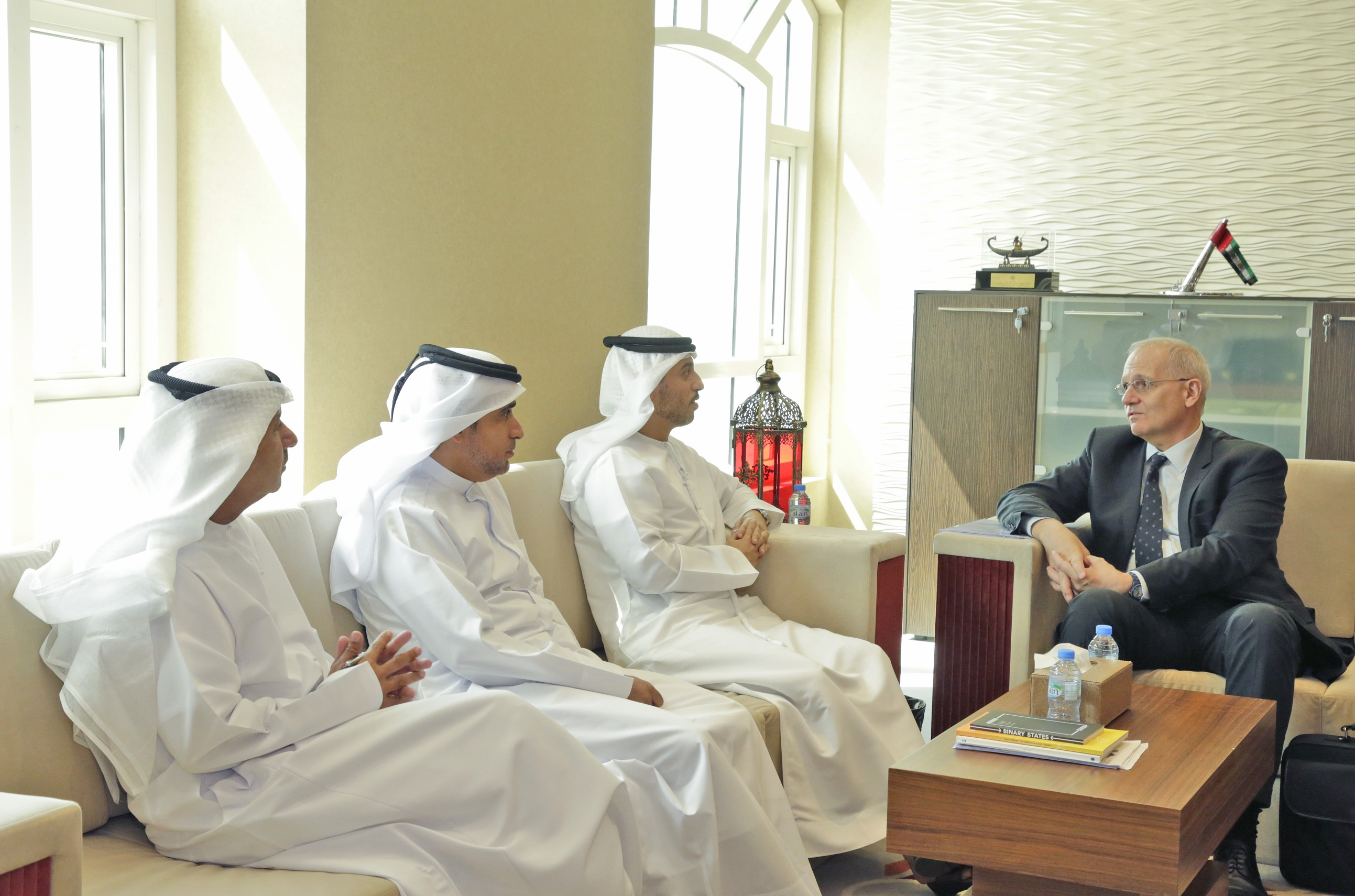 UAESA discusses collaboration with International Astronautical Federation