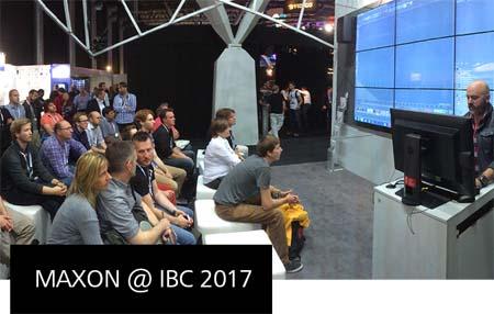 Experience Cinema 4D at IBC 2017