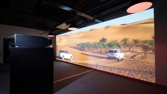 Barco expands MEA demo and training centre in Dubai