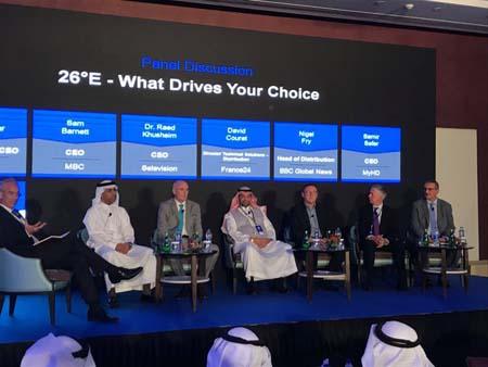 Arabsat's customer forum upbeat on MENA