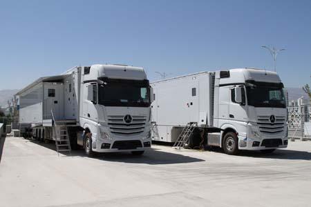 Broadcast Solutionsdelivers OB trucks to Turkmenistan TV