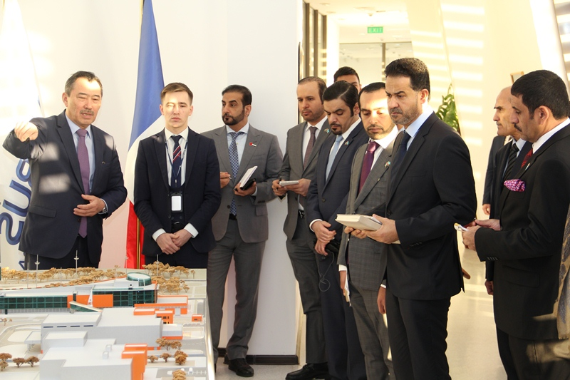 UAE delegation visits Kazakhstan's Space Centre