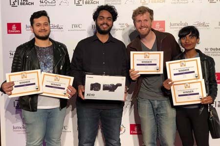 Winners of 48-hour film project receive Canon imaging equipment