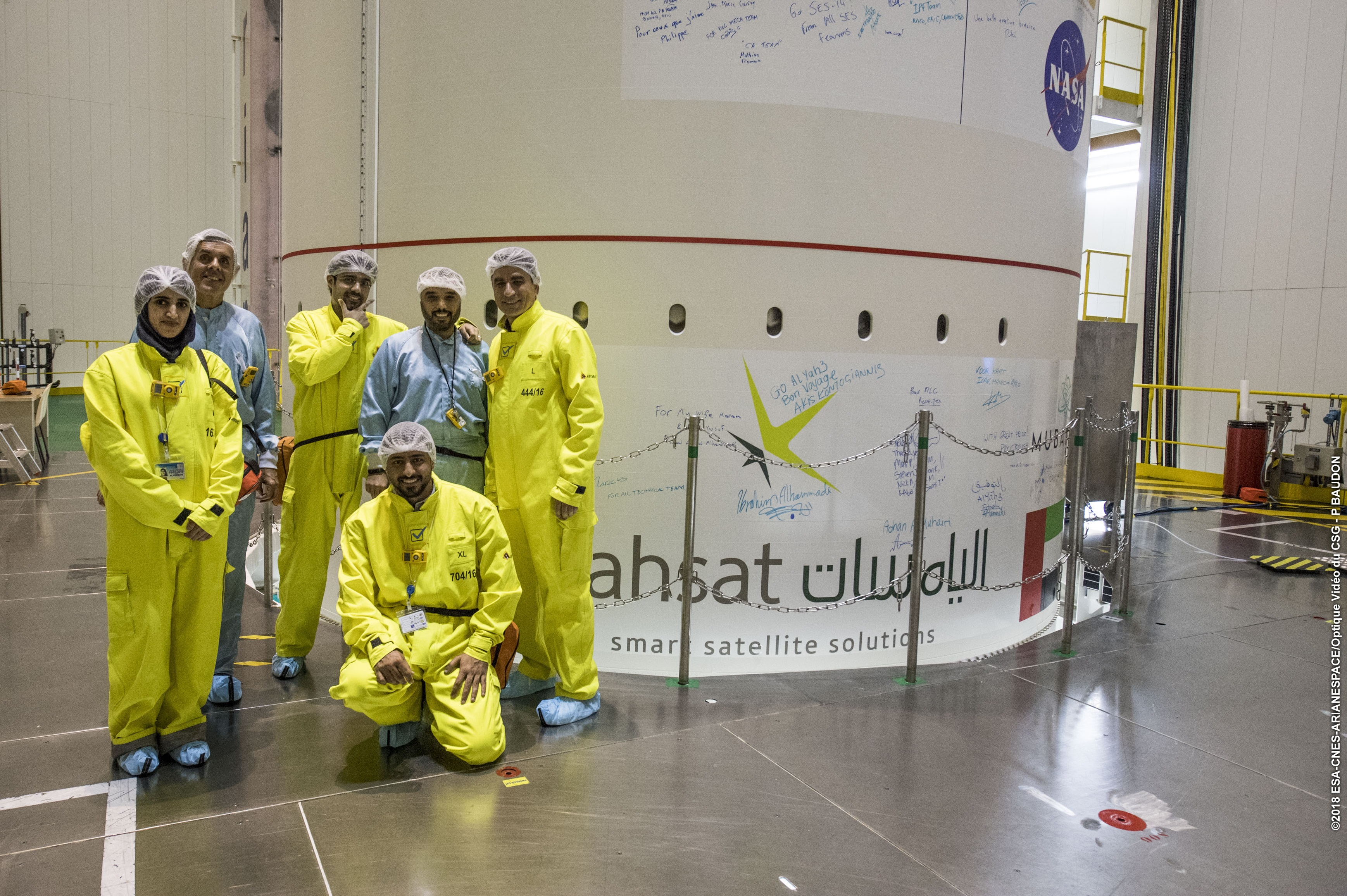 Al Yah 3 signed off for launch