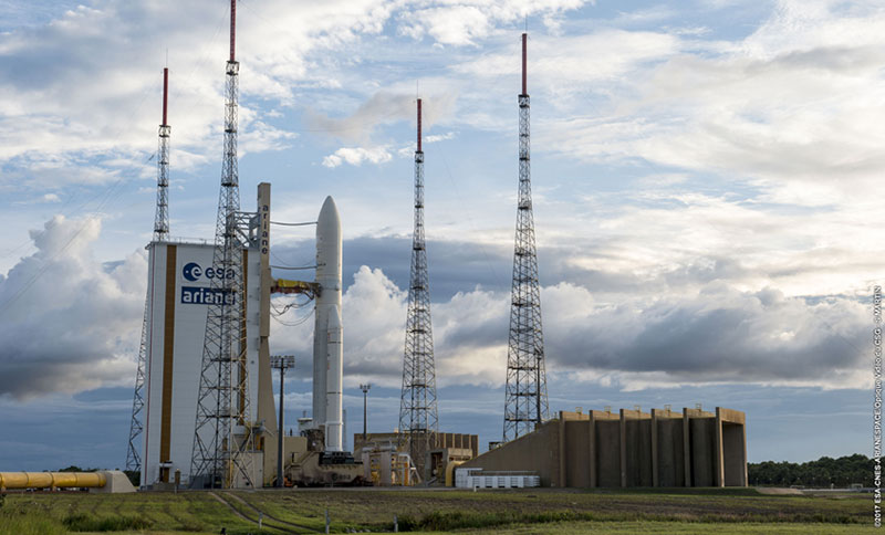 Arianespace to launch Al Yah-3 and SES-14