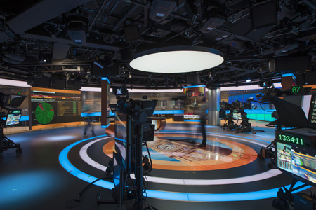 dB Broadcast delivers IP-based studios for Bloomberg