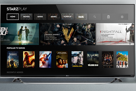Starz Play service now available on LG Smart TVs