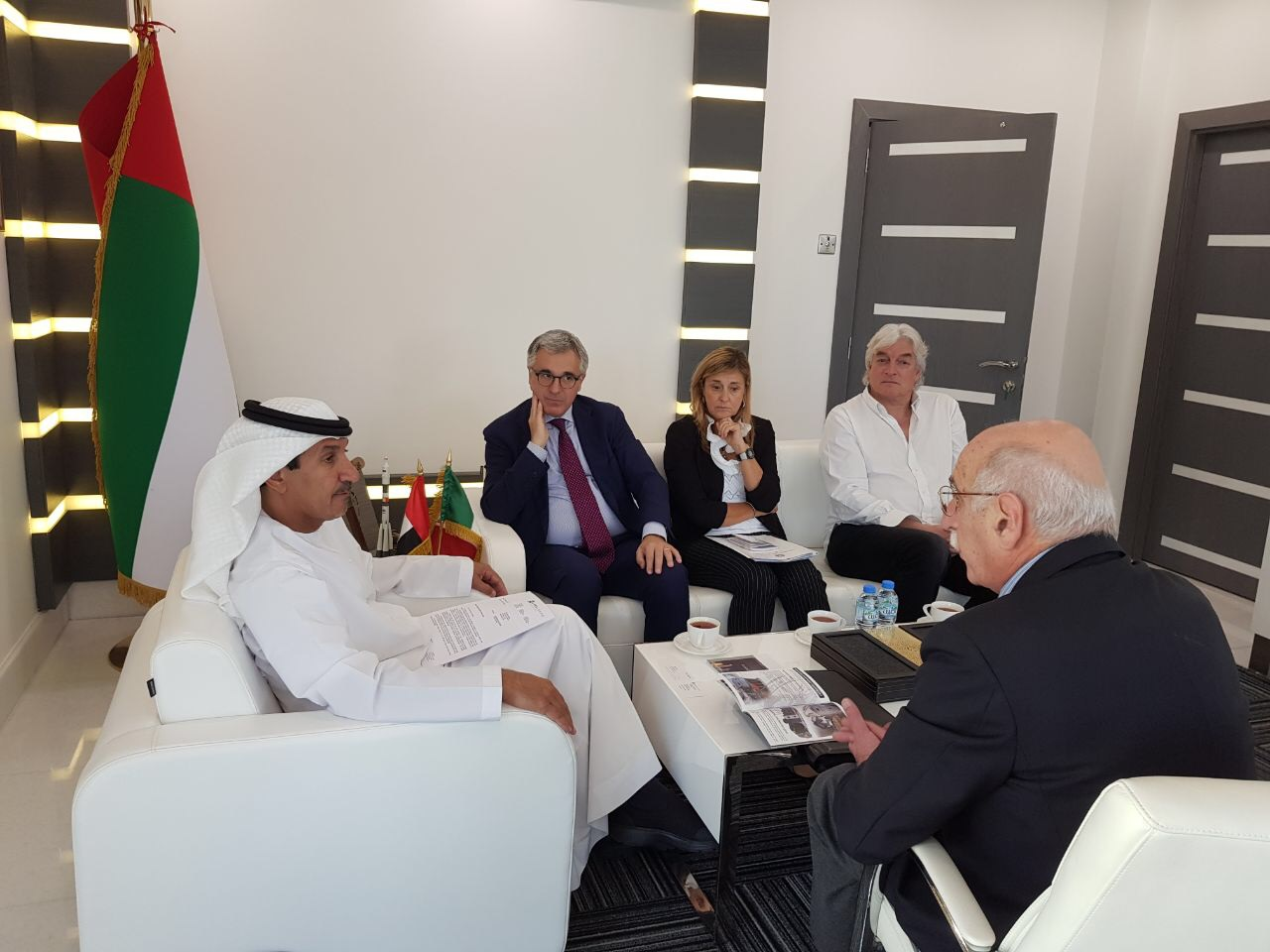 UAESA looks to cooperate with Italian delegation