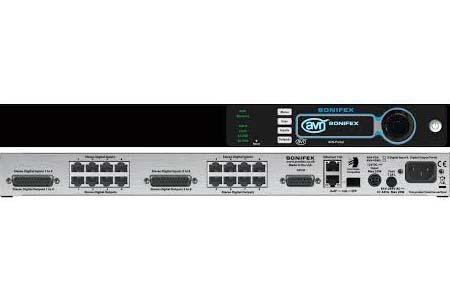 Upgraded Sonifex's AES67 talkback intercom range at NAB 2018