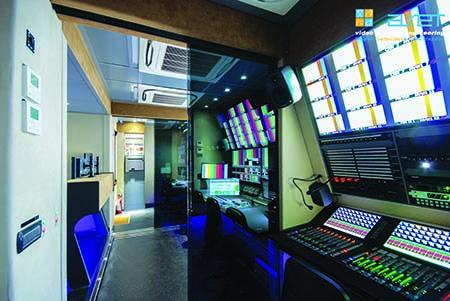 ARET builds OB van for Sharjah TV
