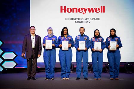 Honeywell invites six UAE-based teachers to train at NASA facility