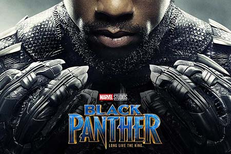 """Riyadh premiere for """"Black Panther"""" in AMC theatre"""