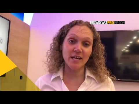 Yvonne Monterroso on new solutions from Dejero at NAB 2018