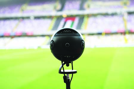 UAE creates history with live VR telecast of football