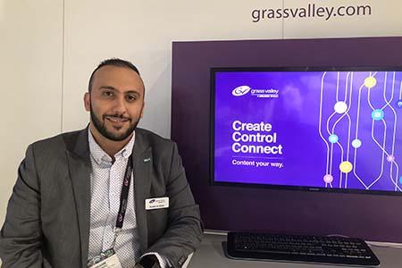 Moving towards UHD/ 4K production: Ibrahim Al Akkad of Grass Valley