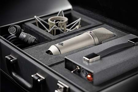 Neumann launches re-issue of 1960s U 67 microphone in the Middle East