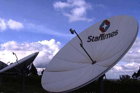China's StarTimes to provide satellite TV to 10,000 African villages