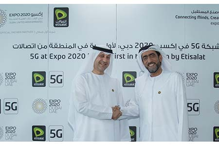 Etisalat powers 5G at Expo 2020 Dubai, the region's first commercial customer