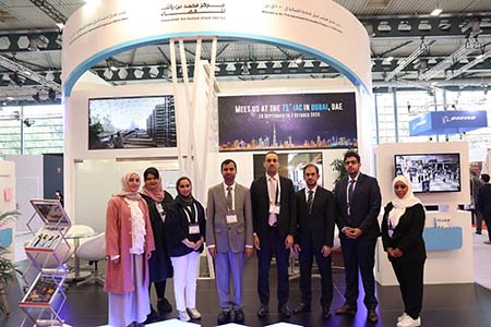 MBRSC team showcases national space projects at International Astronautical Congress