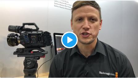 Stuart Ashton, Director of Blackmagic Design EMEA on the launch of RAW at IBC