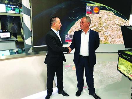 Building Jordan's Al Mamlaka TV studio