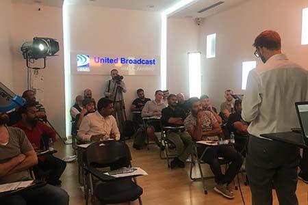 Dubai's UBMS conducts ARRI Stellar workshop
