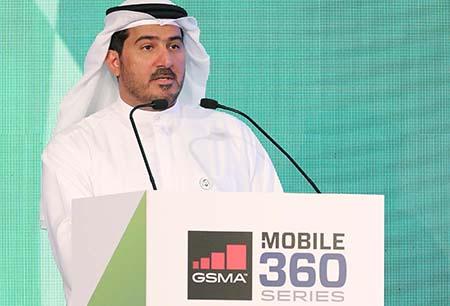 Etisalat's Khalifa Al Shamsi delivers keynote address at Mobile 360 conference