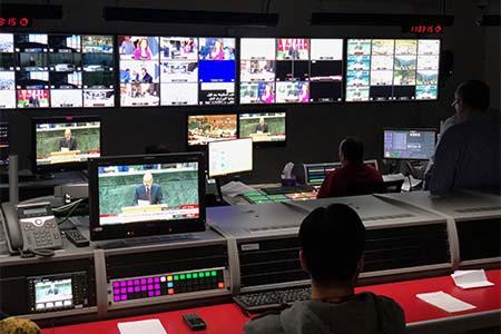 Jordan's Al Mamlaka TV deploys Lawo VSM to control TV broadcast infrastructure