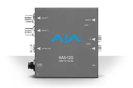 AJA mini-converters now available