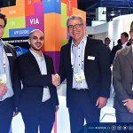 Alamiya CEO signs deals with EVS, Canon and Vizrt at NAB