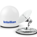 Intellian unveils v100NX, 1m dual-band maritime VSAT antenna