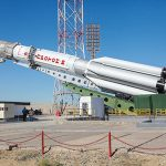 ILS Proton gears up for launch of Eutelsat 5 WEST B / MEV-1 satellites today