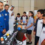 Emirati astronaut in space visits students ofEmirates International Schoolin Jumeirah