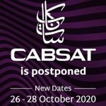 CABSAT 2020 postponed, to be held in October