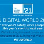 ITU Digital World 2020 postponed due to coronavirus pandemic