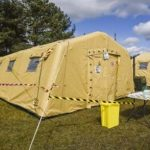 Space-enabled mobile bio-lab to test key workers for Covid-19