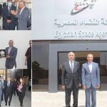 Arab Academy for Science delegation visits Egyptian Space Agency