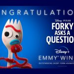 Pixar wins first Emmy for animated short-form series 'Forky Asks A Question'