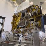 Turksat showcases communication satellite scheduled to launch this year