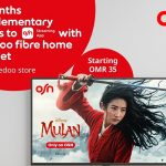 Ooredoo Oman offers free access to OSN app with FTTH internet