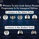 UAE Space Agency announces 10 winners to join Arab Space Pioneers Programme