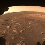 Perseverance drives on Mars' terrain for first time