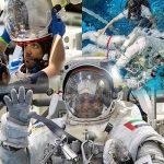 UAE astronauts train for spacewalk at NASA