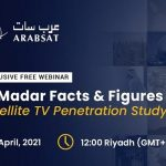 Arabsat to unveil details of MENA satellite TV penetration study during webinar