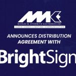 NMK Electronics signs agreement with BrightSign