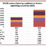 Arabic SVOD subscribers to reach 15m by 2026: Digital TV Research