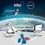 HiSky expands IoT service over Africa, Middle East, UK and Scotland with Avanti