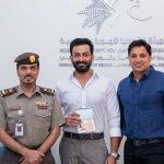 Malayali actor Prithviraj Sukumaran receives UAE golden visa